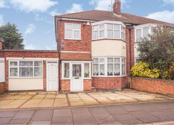 3 bed semi-detached house for sale in Asquith Boulevard, Leicester LE2