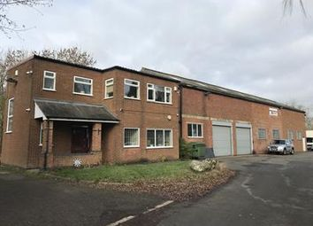 Thumbnail Light industrial for sale in Former Brook Lane Garage, Hunts Lane, Desford, Leicestershire