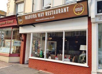 Thumbnail Restaurant/cafe for sale in 72 Seaside Road, Eastbourne