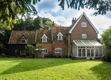 Thumbnail 4 bed detached house for sale in Booseys Walk, New Buckenham, Norwich, Norfolk
