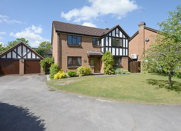 Thumbnail 4 bed detached house for sale in Duncan Gardens, Purley On Thames, Reading
