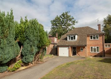 Thumbnail 4 bed detached house for sale in Silverdale, Church Crookham, Fleet