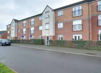 Thumbnail 2 bed flat for sale in Hobby Way, Cannock