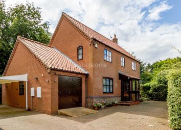 Thumbnail 4 bed detached house for sale in North Pickenham Road, Swaffham