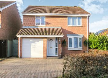 Thumbnail 4 bed detached house for sale in Borage Close, Swindon