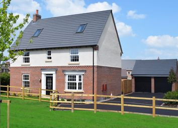 "Thumbnail 5 bed detached house for sale in ""Moorecroft"" at Tamora Close, Heathcote, Warwick"