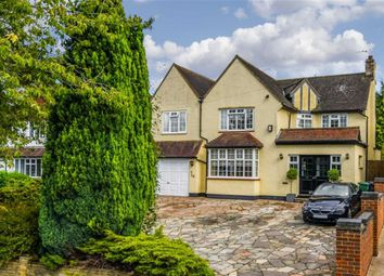 Thumbnail 4 bed detached house for sale in Ruden Way, Epsom, Surrey