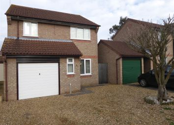 Thumbnail 3 bed detached house for sale in Wycliffe Grove, Werrington, Peterborough