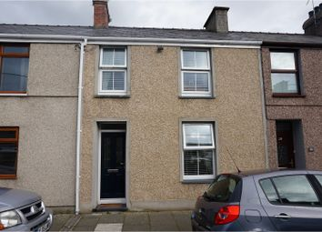 Thumbnail 3 bed terraced house for sale in East Avenue, Porthmadog
