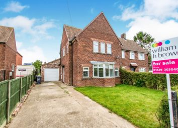 Thumbnail Semi-detached house for sale in Cumberland Avenue, Wellingore, Lincoln
