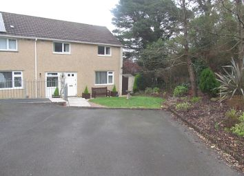 Thumbnail 3 bedroom end terrace house for sale in Pinewood Close, Morriston, Swansea.