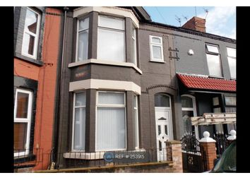 Thumbnail 4 bed terraced house to rent in Cedardale Road, Liverpool