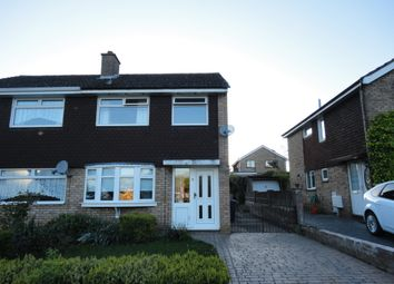 Thumbnail 3 bed semi-detached house to rent in Swinburne Close, Sutton Hill