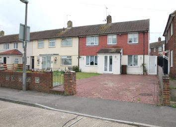 Thumbnail 3 bedroom end terrace house to rent in Sturry Way, Gillingham, Kent