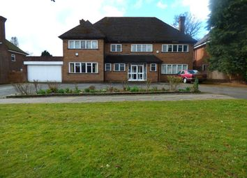 Thumbnail 5 bed detached house for sale in Lordswood Road, Harborne, Birmingham