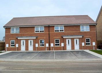 Thumbnail 2 bed town house for sale in Fairfield Avenue, Nr Selby, Carlton