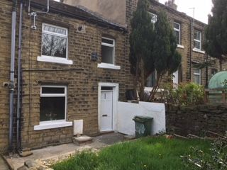 Thumbnail 2 bed terraced house to rent in Blackmoorfoot Road, Crosland Moor, Huddersfield