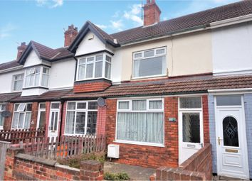 Thumbnail 2 bed terraced house for sale in Fairview Avenue, Cleethorpes