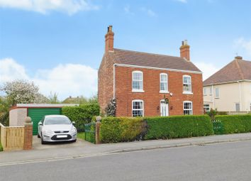 Thumbnail 4 bed detached house for sale in Church Lane, Winthorpe, Skegness, Lincs
