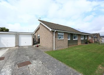 Thumbnail 2 bedroom semi-detached bungalow for sale in Charnhill Way, Plymstock, Plymouth