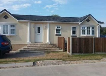 Thumbnail 2 bed mobile/park home for sale in Commons Road, Whittlesey, Peterborough