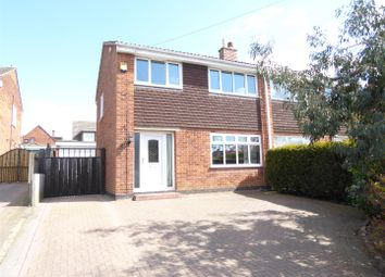 Thumbnail 3 bed semi-detached house for sale in Shelley Road, Midway, Swadlincote