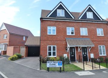 Thumbnail 3 bed town house for sale in Orchard Close, Maddoxford Lane, Botley, Southampton