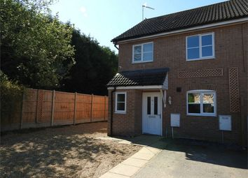 Thumbnail 3 bed semi-detached house for sale in Kent Drive, Watlington, King's Lynn