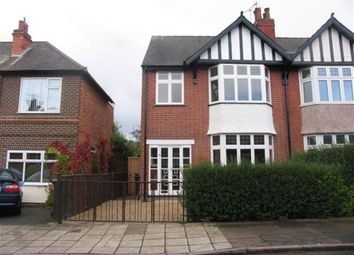 Thumbnail 3 bed semi-detached house to rent in Denison Street, Beeston, Nottingham