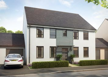 "Thumbnail 4 bed detached house for sale in ""Chelworth"" at Church Close, Ogmore-By-Sea, Bridgend"