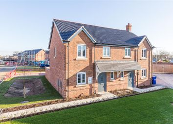 Thumbnail 3 bed semi-detached house for sale in Monckton Way, Dunholme, Lincoln