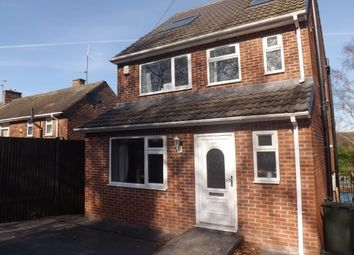 Thumbnail 3 bed detached house to rent in Moorgate Road, Moorgate, Rotherham