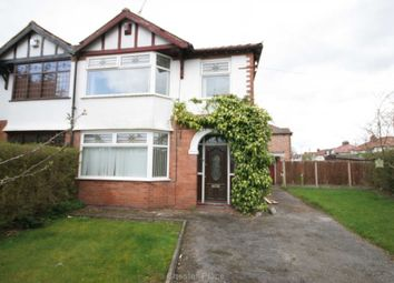 Thumbnail 3 bed semi-detached house to rent in Elmwood Avenue, Hoole, Chester