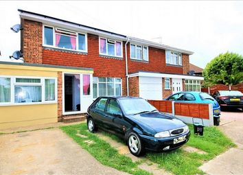Thumbnail 4 bed semi-detached house for sale in Barnards Avenue, Canvey Island, Essex