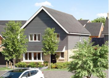 Waters Edge, Mytchett, Camberley GU16. 4 bed link-detached house for sale