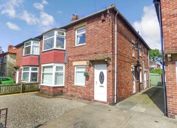 Thumbnail 2 bed flat for sale in Falstaff Road, North Shields