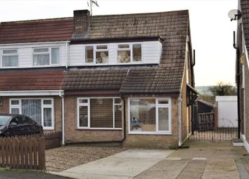 Thumbnail 2 bed semi-detached house for sale in Merrals Wood Road, Rochester