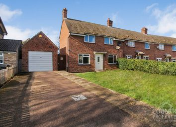 3 bed end terrace house for sale in Addingtons Road, Great Barford, Bedford MK44
