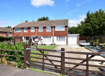Thumbnail 4 bed semi-detached house for sale in Sandfield Avenue, Littlehampton, West Sussex