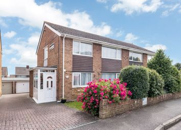 Thumbnail 4 bed semi-detached house for sale in Cranborne Road, Cosham, Portsmouth