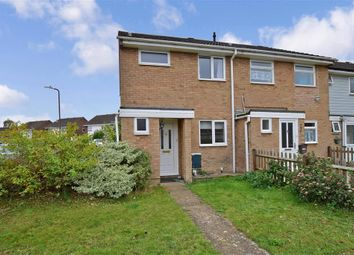 Thumbnail 3 bed end terrace house for sale in Auden Road, Larkfield, Aylesford, Kent