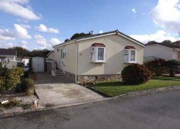 Thumbnail 2 bed mobile/park home for sale in St. Columb Major, Cornwall, .