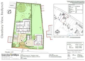 Thumbnail Land for sale in Redlynch, Salisbury