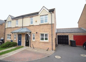 Thumbnail 3 bed semi-detached house to rent in Caister Close, Seaham