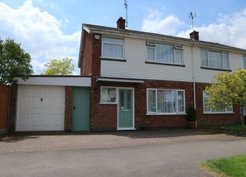 Thumbnail 3 bedroom semi-detached house for sale in Nicholas Drive, Ratby