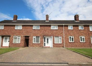 Thumbnail 3 bedroom terraced house for sale in Kempe Close, Norwich