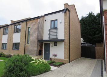 Thumbnail 3 bed semi-detached house for sale in Hawksbill Way, Peterborough