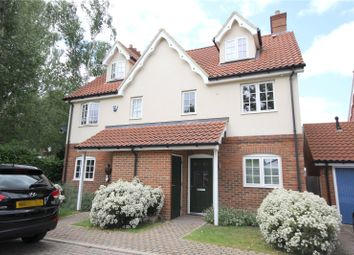 Thumbnail 4 bed semi-detached house for sale in Slade Road, Ottershaw, Surrey