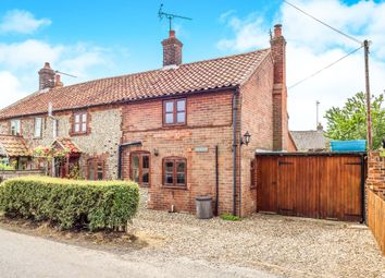 Thumbnail 3 bedroom semi-detached house for sale in Doves Corner, Hickling, Norwich