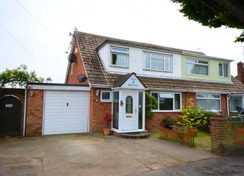 Thumbnail 3 bed semi-detached house for sale in Crossways, Jaywick, Clacton-On-Sea